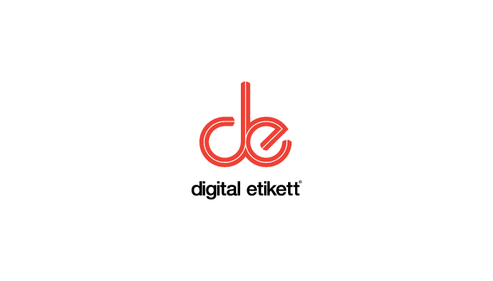 Digital Etikett